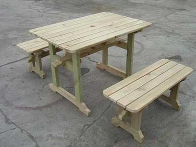户外桌椅二